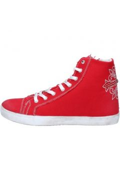 Chaussures Ciaboo sneakers rouge toile AX21(115443231)