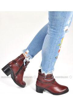 Maroon - Boot - Boots - Vizon(110330342)