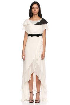 Lanvin-Lanvin Beyaz Gece Elbisesi(108604523)