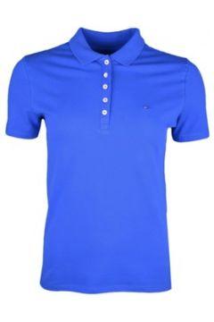 Polo Tommy Jeans Polo 5 boutons bleu royal pour femme(88517013)