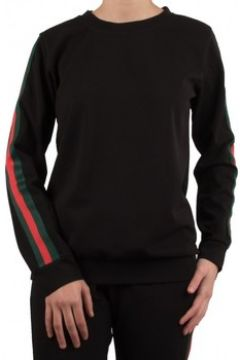 Pull Primtex Sweat à bande verte rouge haut de jogging(88678752)
