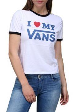 T-shirt Vans Tee shirt femme manches courtes(98519876)