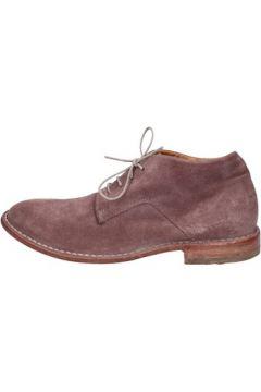 Boots Moma bottines rose daim BT188(115442751)