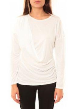T-shirt Coquelicot T-shirt CQTW14303 Blanc(127874187)