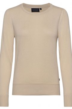 Yvette Cotton/Bamboo Sweater Strickpullover Creme LEXINGTON CLOTHING(121166184)