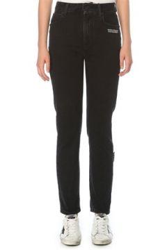 Off-White Kadın Straight Fit Siyah Jean Pantolon 26 US(121208156)