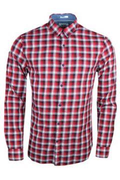Chemise Tommy Jeans Chemise à carreaux rouge slim fit pour homme(115400305)