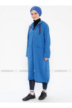 Blue - Unlined - Topcoat - Meryem Acar(110330062)