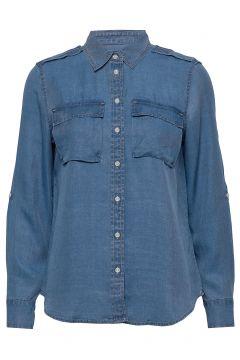 Dillon Classic-Fit Tencel™ Utility Shirt Langärmliges Hemd Blau BANANA REPUBLIC(116414263)