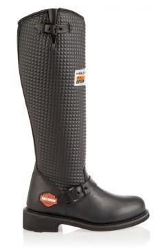 Harley Davidson 025g0332 Kadın Çizme Siyah(110966013)