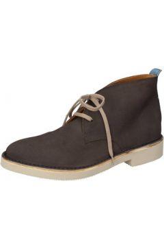 Boots Moma bottines gris daim AB329(115395364)