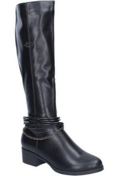 Bottes Braccialini bottes noir cuir BX01(98483769)
