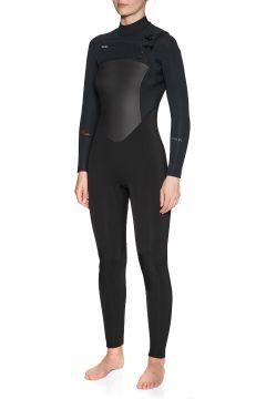 Combinaison de Surf Femme Xcel Infiniti 5/4mm Chest Zip - Black(111320531)