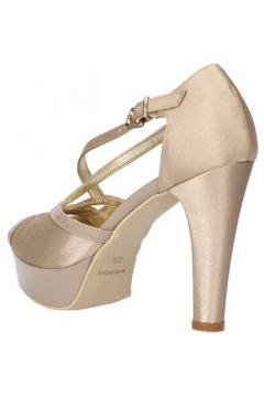 Sandales Sergio Cimadamore sandales beige satin cuir verni AF482(115394029)