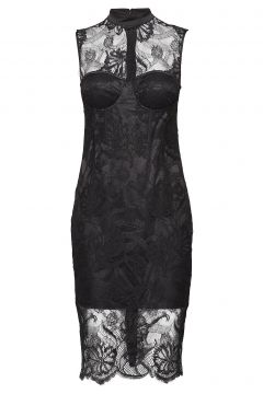 Lou Lace Dress Kleid Knielang Schwarz MARCIANO BY GUESS(114163070)