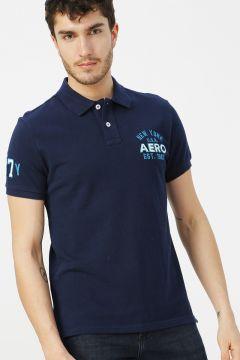 Aeropostale Lacivert Polo T-Shirt(113995312)