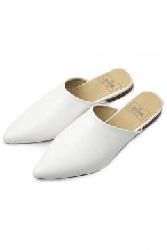 Rollbab Kadın Beyaz White Croco Classic Terlik(124972956)