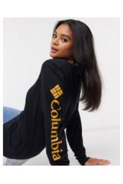 Columbia - North Cascades - Maglietta a maniche lunghe nera/oro-Nero(120359743)