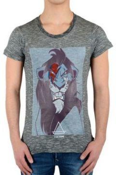 T-shirt Eleven Paris Tee Shirt Scar SS Mixte(115430224)