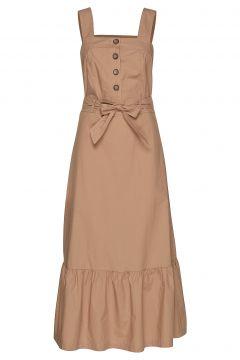 Poszaria Dress Kleid Knielang Braun POSTYR(114163478)