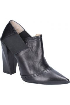 Bottines Gianni Marra bottines noir cuir textile BX80(115442482)