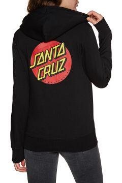 Pullover à Capuche Femme Santa Cruz Classic Dot - Black(111332938)