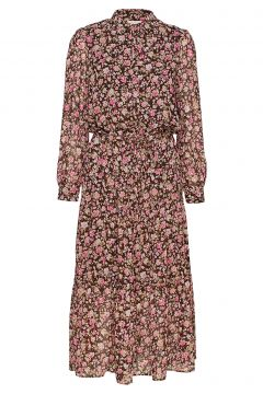 Emma-Dr Kleid Knielang Pink FREE/QUENT(108839444)