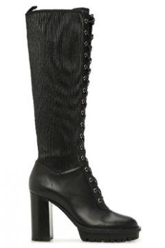 Gianvito Rossi Kadın Siyah Topuklu Deri Çizme 36 EU(122066283)