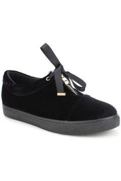 Chaussures Cendriyon Baskets Noir Chaussures Femme(115465562)