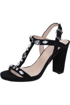 Sandales Liu Jo sandales noir daim BZ119(115393927)