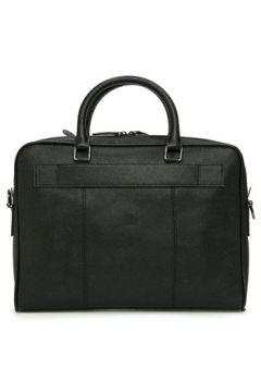 Beymen Collection Erkek Mercan Siyah Logolu Deri Laptop Çantası EU(114438689)