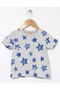 Koton Baskılı Gri T-Shirt(113999241)