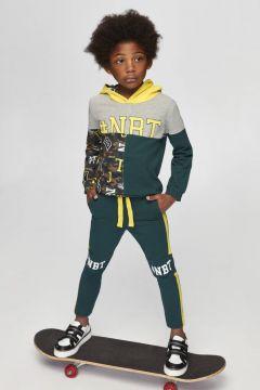 Nebbati B&G Yeşil Erkek Çocuk Eşofman Altı(114005711)