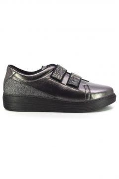 Eşle 20y 38-301 Kadın Sneakers Ayakkabı Platin(110967206)