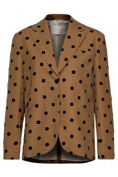 Vina, 705 Wool Tailoring Blazer Jackett Braun STINE GOYA(100458359)