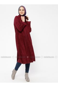Cherry - Unlined - Polo neck - Topcoat - ECESUN(110322423)