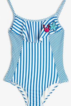 Koton Kız Çocuk Çizgili Mayo(108901091)