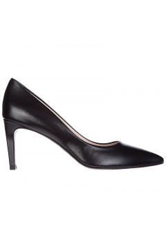 Women's leather pumps court shoes high heel(118072674)