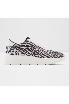 Aldo Kumaş SİYAH/BEYAZ Kadın Sneaker(119981688)