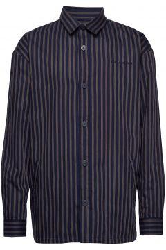Shirt Jacket Hemdjacke Blau HAN KJØBENHAVN(108014105)
