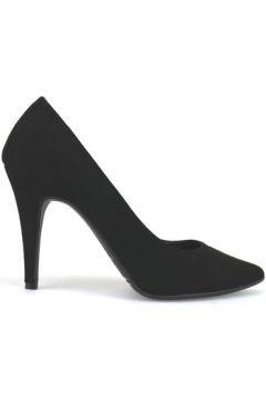 Chaussures escarpins Bottega Lotti escarpins noir daim AJ557(115400259)