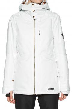 Blouson pour Snowboard Femme 686 Aeon Insulated - White Dobby(111320149)