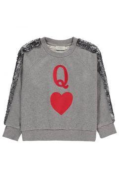 Sweatshirt mit Pailletten-Streifen Boston(113867112)