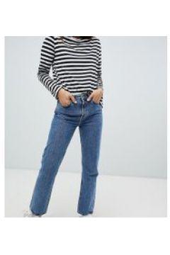 Weekday - Voyage - Jeans mit geradem Beinschnitt aus Bio-Baumwolle in Blau - Blau(94102920)