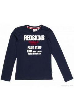 T-shirt enfant Redskins T-Shirt manches longues garçon ACHCAL Bleu Marine(127850538)