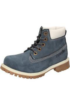 Boots enfant Enrico Coveri COVERI bottines bleu cuir suédé AD830(115395343)