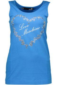 T-shirt Love Moschino W 4 E21 06 E 1257 Débardeur Femme BLEU Y13(115584224)