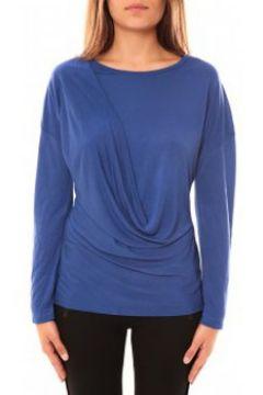 T-shirt Coquelicot T-shirt CQTW14303 Bleu(127874186)