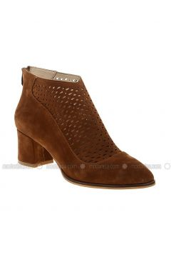 Tan - Boot - Boots - DERİGO(110339470)
