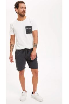 DeFacto Erkek Bağcıklı Slim Fit Spor Şort(119065321)